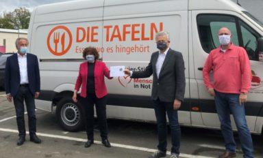 Spendenübergabe an Bayreuther und Kulmbacher Tafeln